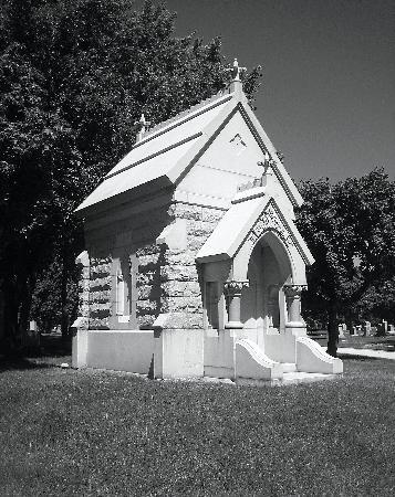 Rosehill Cemetery: Victorian Gothic Mausoleum