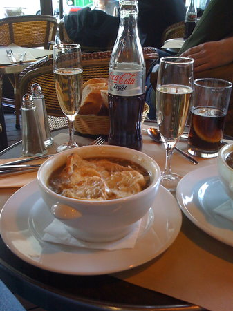 Cafe Lateral: French Onion Soup
