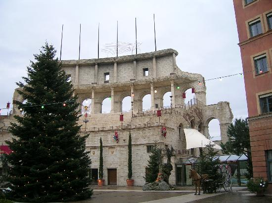 """Hotel """"Colosseo"""" Europa-Park: Colosseo hotel in winter"""