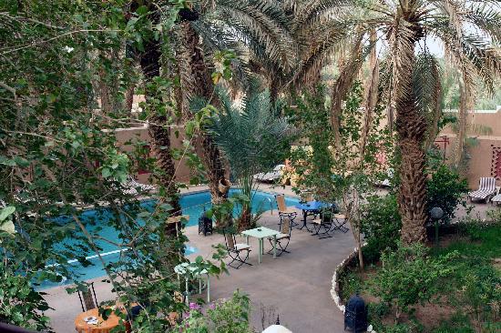 Kasbah La Fibule du Draa: Terrasse