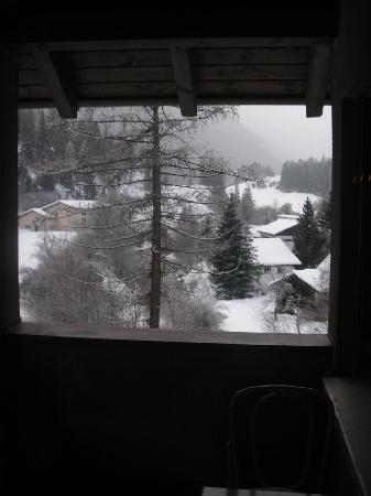 Hotel Albula & Julier: View from our room