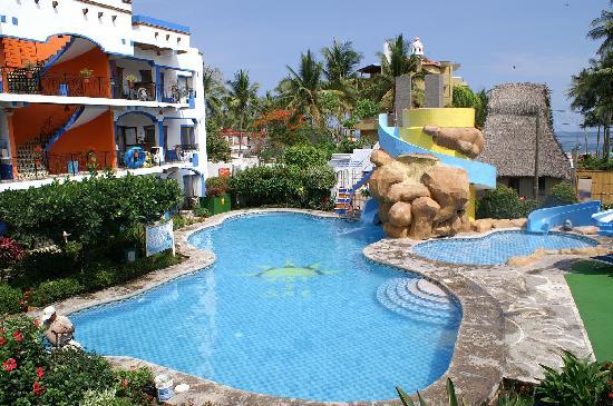 Hotel suites mar y sol las palmas rinc n de guayabitos - Casa del mar las palmas ...