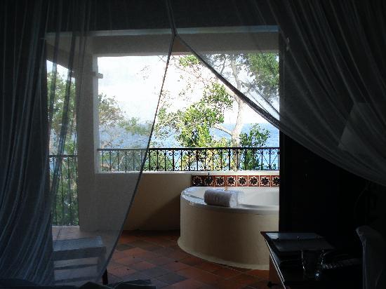 كاب ميزون ريزورت آند سبا: View from second floor bedroom