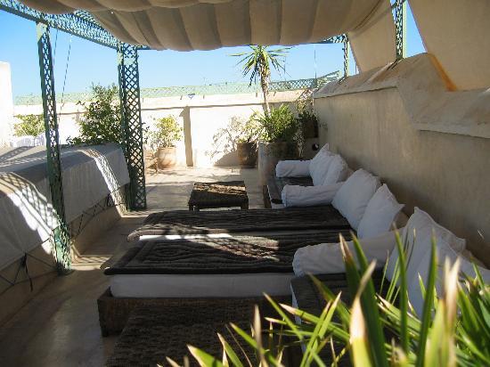 Riad Vert Marrakech: roof