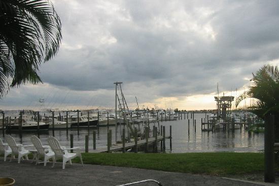 The Harbor Inn & Marina: View of the harbor