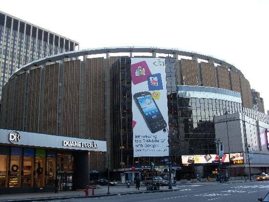 Madison Square Garden On Next Corner Picture Of The New Yorker A
