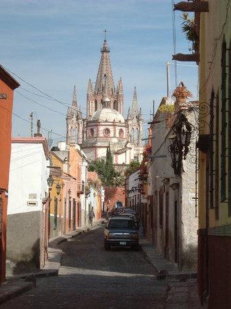 Сан-Мигель-де-Альенде, Мексика: ciudad