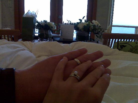 Rockwater Secret Cove Resort: Just Married!  The view from our tenthouse suite!