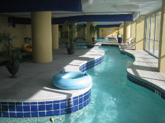 Grand Atlantic Ocean Resort Indoor Pool Area