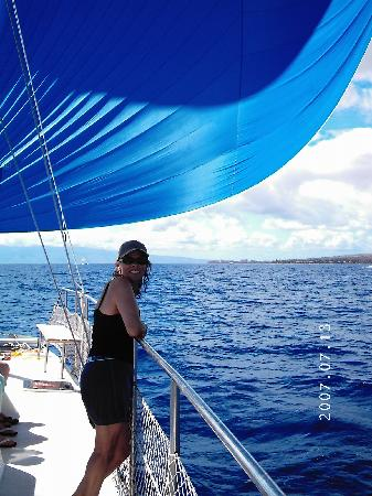 Hotel Lanai: onboard with Trilogy Ocean Sports
