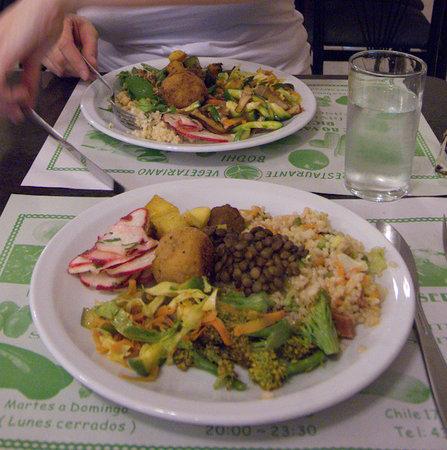 Bodhi Vegetarian Restaurant: yummie food at Bodhi
