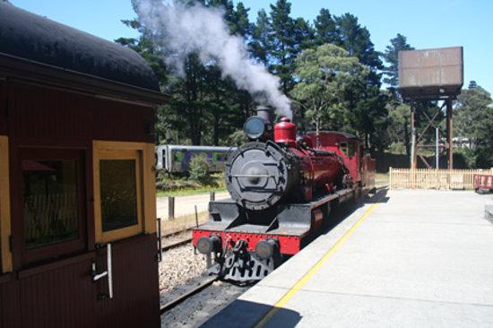 Lithgow, Australia: Zig Zag Railway - Clarence Station