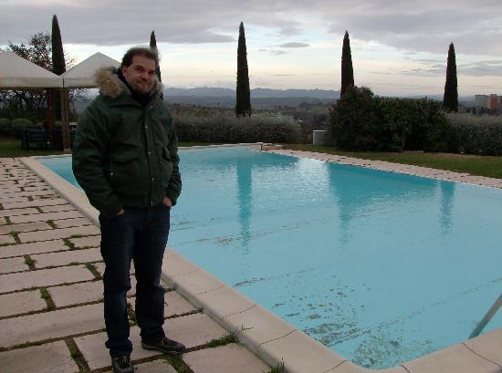 Sangallo Park Hotel: piscina al gelo
