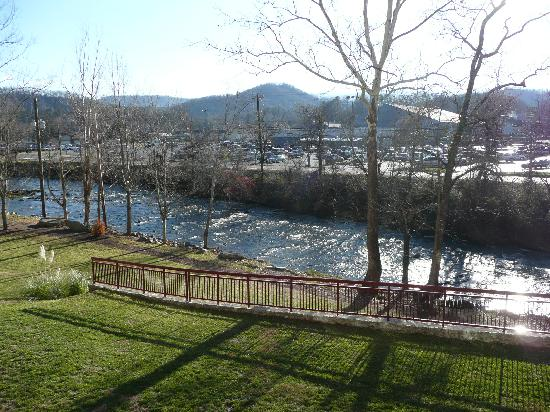 RiverStone Resort & Spa: View from balcony