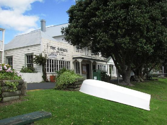Russell, New Zealand: Buildings on waterfront