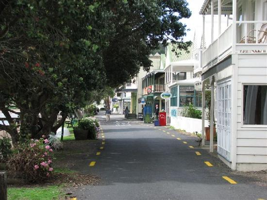 Russell, New Zealand: Old building on waterfront