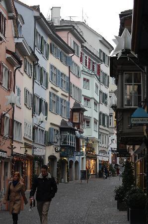 Ζυρίχη, Ελβετία: Augustinergasse