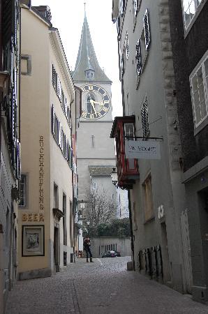 Zurich, Switzerland: St. Peter Church