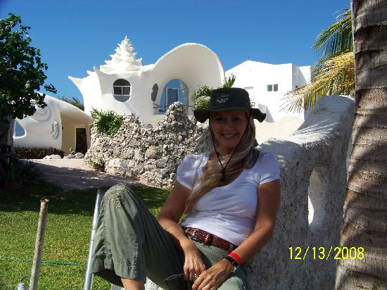 Conch Shell House Picture Of Mia Reef Isla Mujeres Isla Mujeres - Conch-shell-house