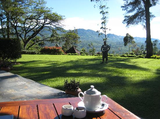 Ceylon Tea Trails - Relais & Chateaux: The view from Norwood Bungalow