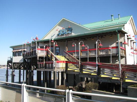 Joe's Crab Shack: Joe's, on the Ohio River, Louisville, KY