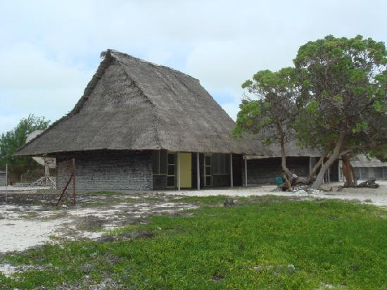 Kiritimati, Kiribati: bungalow at the Captain Cook