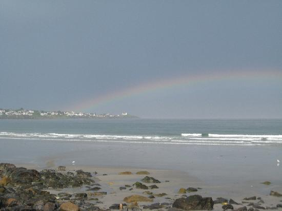 Anchorage Inn: rainbow @ Long Sands