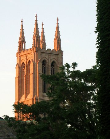 Hyde Park: 2nd Unitarian Church Tower