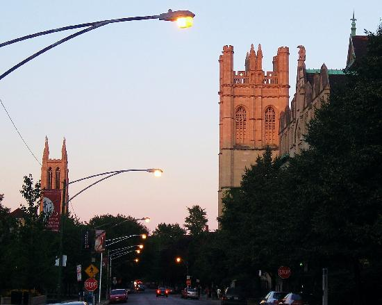 Hyde Park: Evening on 57th Street