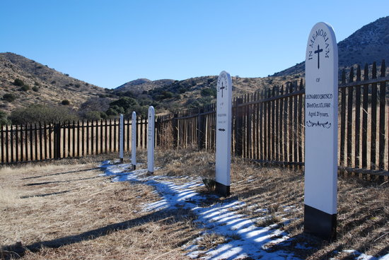 Willcox, AZ: Post Cemetary