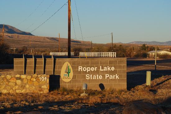 Safford, Аризона: Entrance