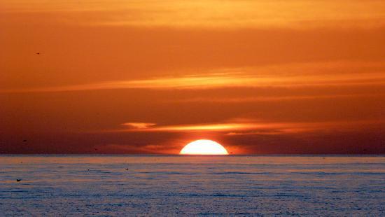 Lido Beach: sunset