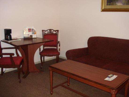 Comfort Suites San Clemente: Living room 1