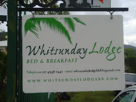 Whitsunday Lodge Bed and Breakfast : Details