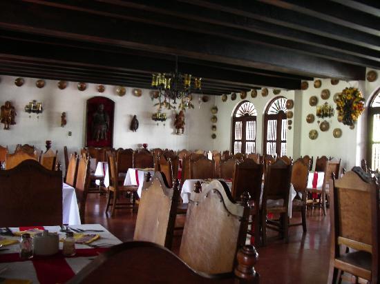 Santo Tomas Hotel: dining room