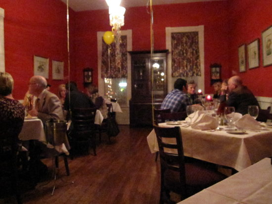 Stillwater Inn: one of the dining rooms