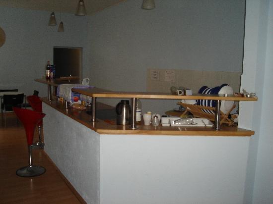 Sunflower Hostel: Die Küche