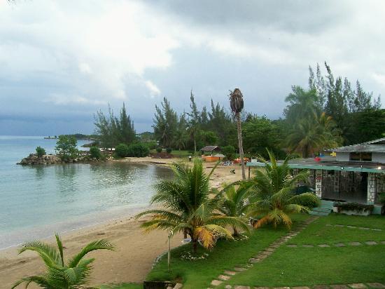 Golden Seas Beach Resort : veiw from beachside room