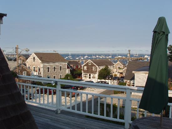 Ampersand Guesthouse: View from the deck