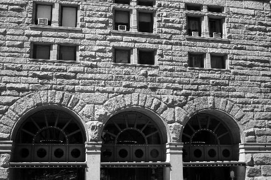 Auditorium Building : Arches