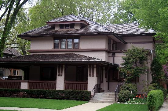 Prairie style house picture of oak park illinois for American classic homes mn