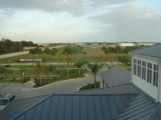 Hilton Garden Inn Lakeland: wide open spaces