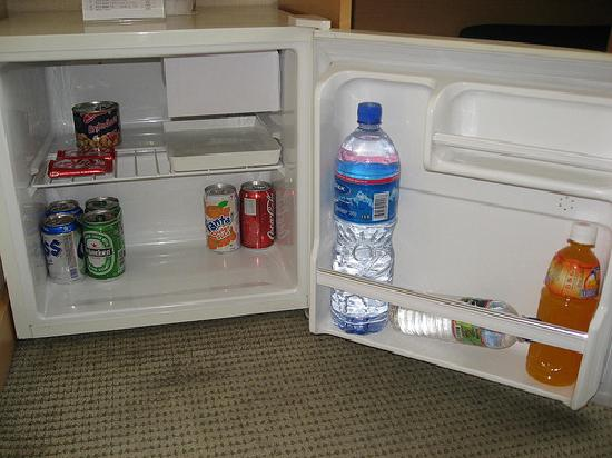 Zaluuchuud Hotel: well stocked indeed....