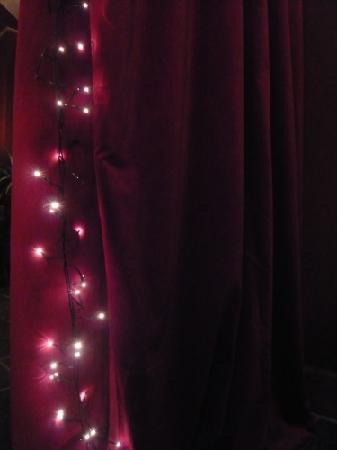 Christmas lights at the Bringewood
