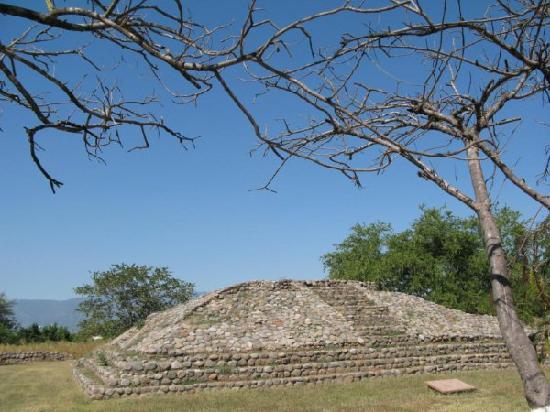 The La Campana ruins/pyramids near Colima