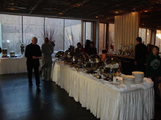 Commune by the Great Wall: Breakfast buffet
