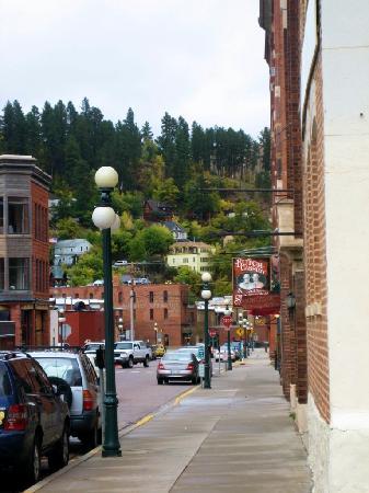 Deadwood, SD: Street Scene