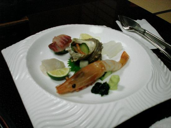 Inn Seiryuso: sashimi