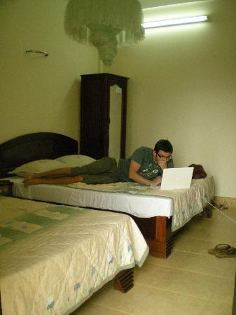 Hai Au Boutique hotel and spa: bedroom