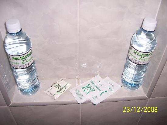 Hotel Diligencias : Complimentary Toiletries